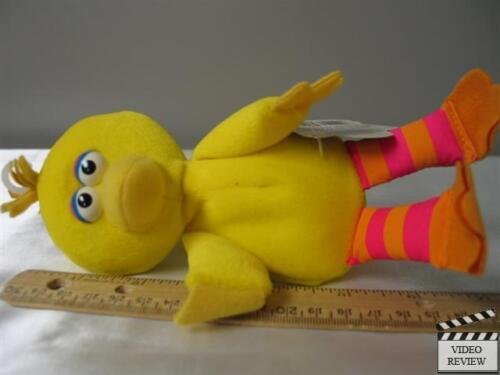 7 inch tall Big Bird beanbag plush toy Applause; NEW