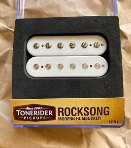 Tonerider Rocksong Neck Pickup White - Humbucker - overwound Alnico II