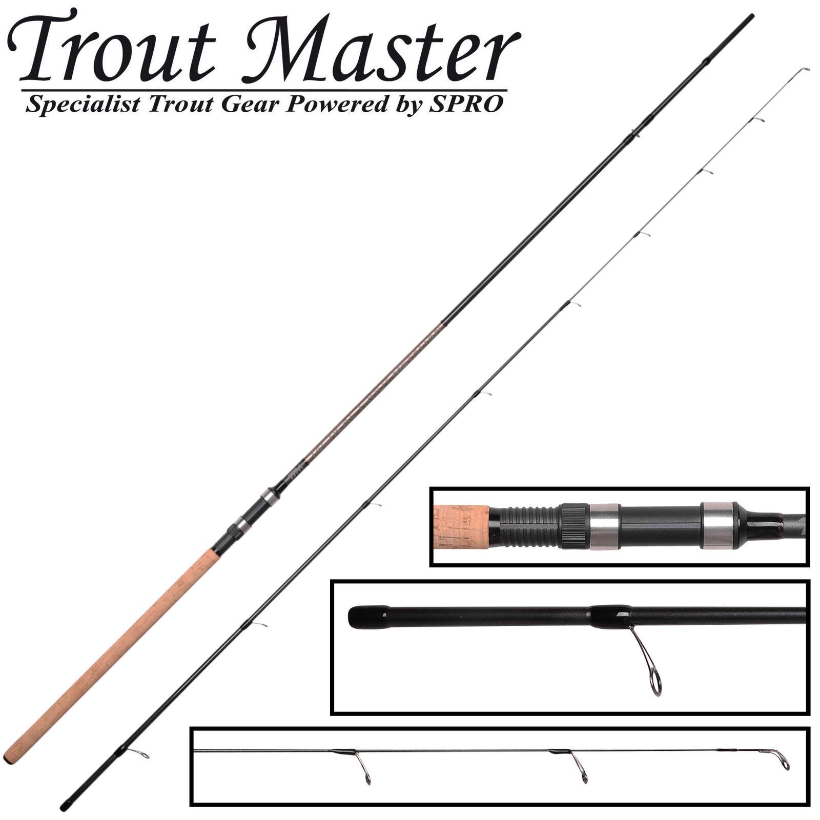 Trout Master Tactical Trout Metalian 2,7m 5-40g - Forellenrute, Spinnrute  | Export