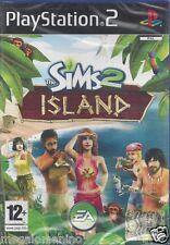 Ps2 PlayStation 2 **THE SIMS 2 ISLAND**  Nuovo Sigillato Italiano Pal