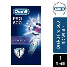 Oral-B Pro 600 3D White Electric Rechargeable Toothbrush