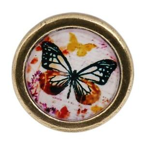 Shabby-Antique-Brass-Knob-Kitchen-Cupboard-Wardrobe-Pull-Handle-Butterfly-3