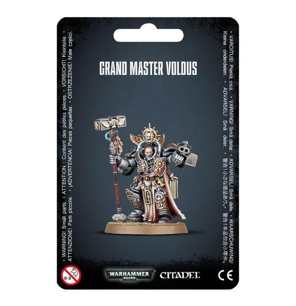 Grey Knight Grand Master Voldus Games Workshop Space Navy 40k Grey