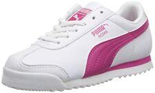 PUMA Girls Roma SL NBK Speckled Jr SNEAKERS Fuchsia Purple 358186 01 ... b8c4a5f9b