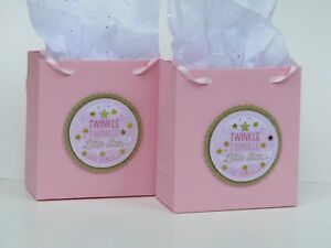 Details About 10 Le Little Star Pink Baby Shower Birthday Party Favor Bags