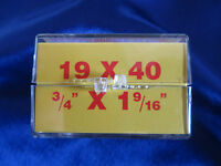 Horolovar 19x40 Mainspring For 400 Day / Anniversary Clocks With Instructions