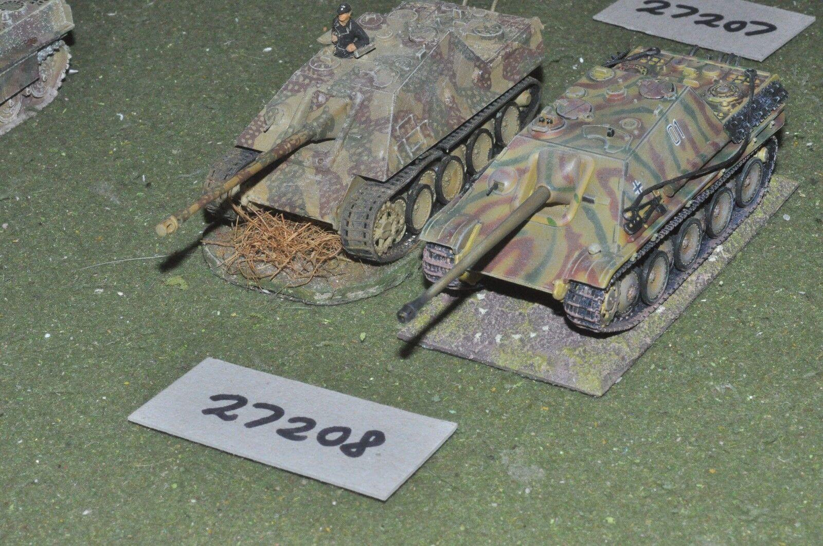 20mm WW2   german - 2 tanks - vehicles (27208)