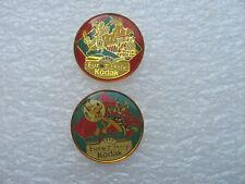 2 PIN'S PLUTO DINGO EURO DISNEY KODAK PINS PIN DISNEYLAND PARIS PHOTO MICKEY  S5