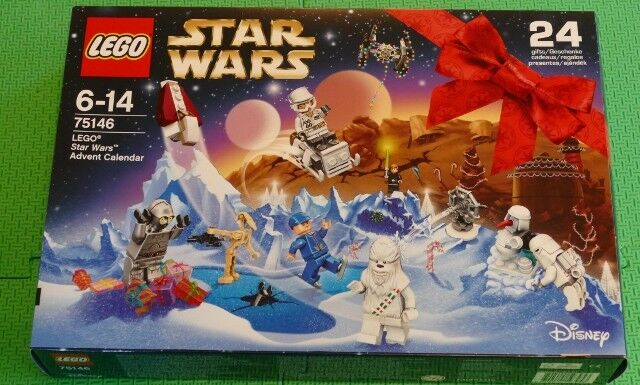 LEGO STAR WARS ADVENT CALENDAR 75146  2016  BRAND NEW UNOPENED  - PAY PAL