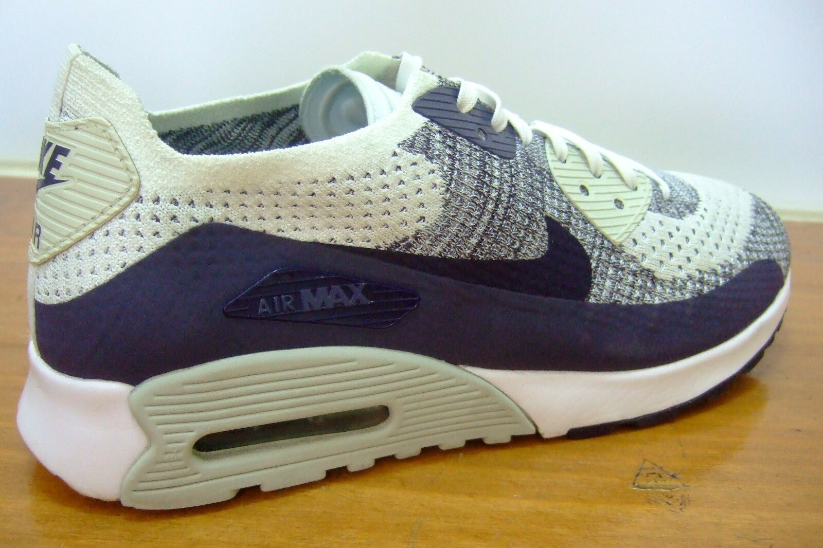 NIKE AIR SIZE MAX 90 ULTRA 2.0 FLYKNIT TRAINERS UK SIZE AIR 6 881109 102 fad565