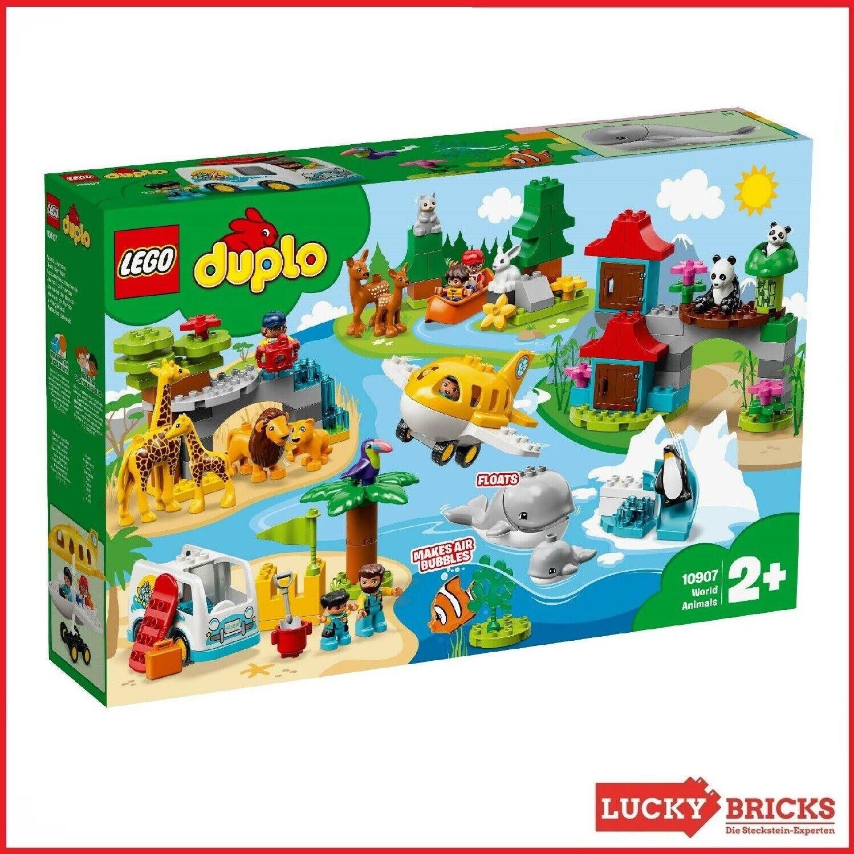 LEGO® DUPLO - 10907 Tiere der Welt ++ NEU & OVP ++