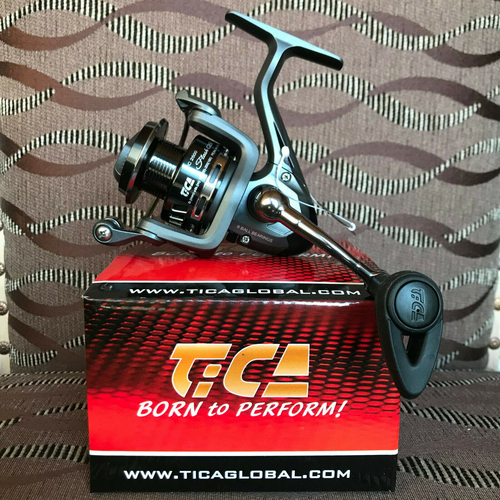 TiCa Flash Cast Cast Cast FC2500 Spinnrolle 870ced