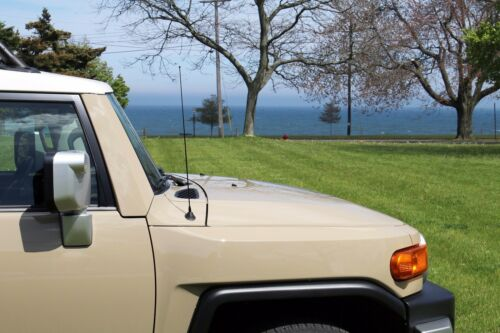 "2007-2015 Toyota FJ Cruiser 21/"" Black Spring Stainless AM//FM Antenna Mast Fits"