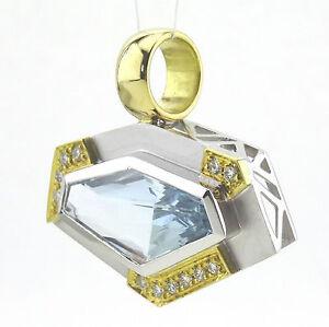 Anhaenger-Unikat-750-18k-Gold-Aquamarin-ca-5-62-ct-Brillant-Handarbeit