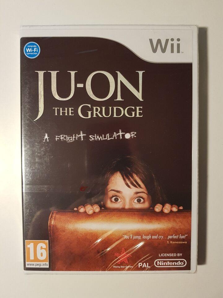 (Nyt i folie) Ju-on the grudge, Nintendo Wii