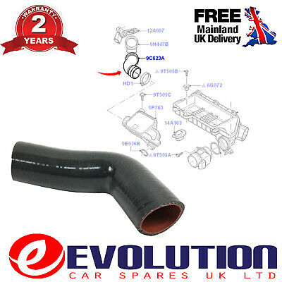 2D0145832A LT35 MK2 2.5 TDI 1996-06 1X TURBO INTERCOOLER HOSE FITS VOLT