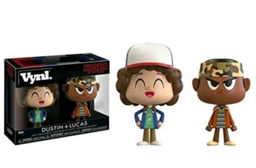 Funko Stranger Things Vynl Dustin Lucas 2 Pack Set NEW Toys IN STOCK Gift Rare
