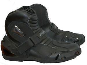 Damen Rk Zu Cruiser Motorrad Kurze Details Leder Kinder Stiefel Knöchel Herren 3 YvfIbg6y7