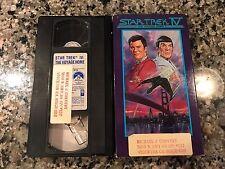 Star Trek IV 4 The Voyage Home VHS! 1986 Galaxy Quest Star Wars Forbidden Planet