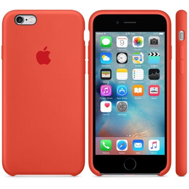 best website d1a2b eca4d Apple iPhone 6 6s Silicone Case - Orange