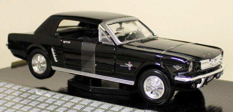 Motormax 1 24 Scale 1964 1 2 Ford Mustang Hardtop Hardtop Hardtop Congreenible Diecast model car 7d0cba
