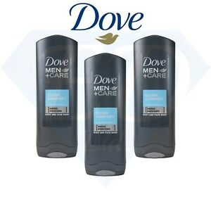 Dove-Men-Care-Clean-Comfort-Body-Face-Wash-Shower-Gel-Caring-Formula-3-x-250ml