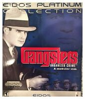 Gangsters: Organized Crime Eidos Platinum Collection (pc) Sealed Retail Box