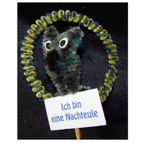 Deko Spießer Chenille Tier Basteln Schmücken Blumenstrauß Dekorieren 129025613