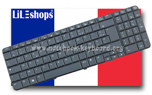 Clavier-Francais-Original-HP-Compaq-Presario-MP-08A96F0-442-90-4AH07-C0F-Neuf