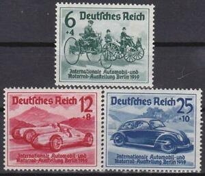 3rd-Reich-International-Automobile-Exhibition-1939-Superb-MNH