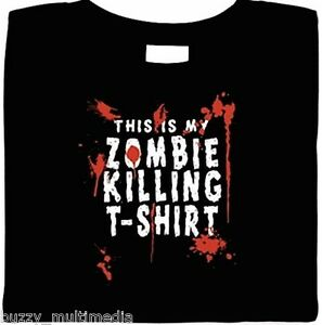 ZOMBIE-SHIRTS-This-is-my-Zombie-Killing-T-Shirt