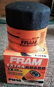 """Very Nice FRAM (PH 16) """"Extra Guard"""" OIL FILTER....MINT in BOX!"""