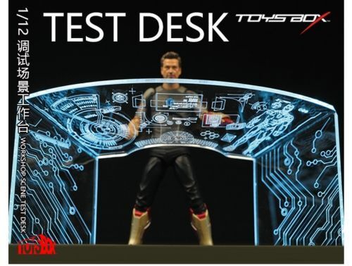1//12 Scale TOYS-BOX 6/'/' Pass Type SHF Iron Man Tony Scene Debugging Table Desk