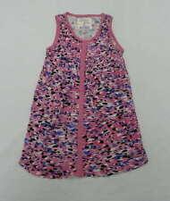 Billabong Kids Girls Medium Pink Casual Animal Print Sleeveless Dress