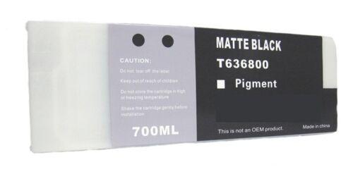 WF Cartridge T6368 Compatible for Epson 7700 9700 7900 9900 Pigment Matte Black