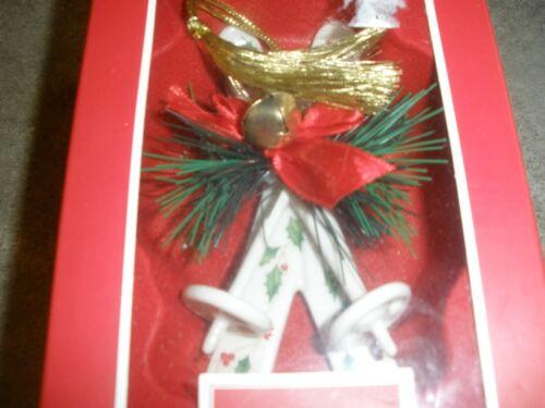 Skiis Tree Lenox Ornament Angel Playing Flute YOU CHOOSE ORNAMENT Ball