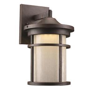 Details About Bel Air Lighting Avalon 6 Watt Rust Outdoor Integrated Led Wall Mount Lantern