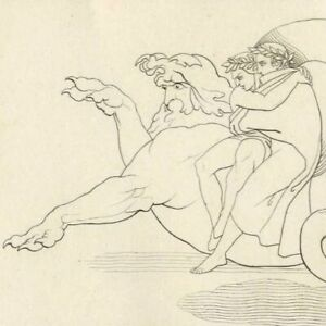 Divine-comedie-Enfer-Geryon-Malebolge-Dante-et-Virgile-John-Flaxman-Gravure-19e