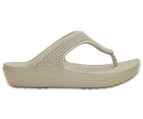 Sabots Sandales Sloane Pantoufles Crocs Diamant De Chaussures W Flip Femme ZW1f1Yzq0