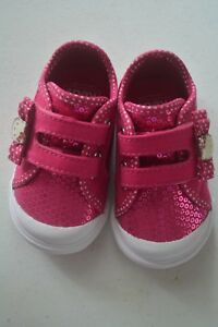 Authentic-KEDS-HELLO-KITTY-Hot-Pink-Baby-Girls-Sneakers-Shoes-3M
