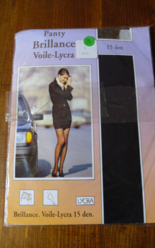 COLLANT VOILE LYCRA  VINTAGE Taille 3