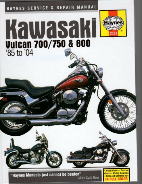 KAWASAKI VULCAN 700, 750 & 800 1984-2004 HAYNES SERVICE & REPAIR MANUAL
