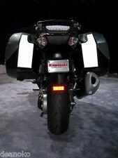 Kawasaki Concours 14 Hardbag Pannier Reflective Decals GTR1400 2007 and newer