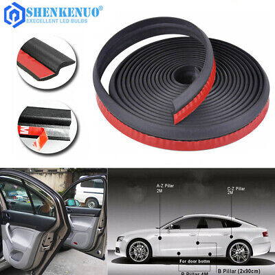 Car 4M Z-shape Window Door Rubber Seal Weather Strip Pad Hollow Car Weatherstrip