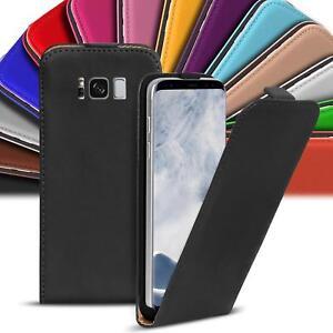 Klapphuelle-Samsung-Galaxy-Flip-Case-Tasche-Schutzhuelle-Cover-Schutz-Handy-Huelle