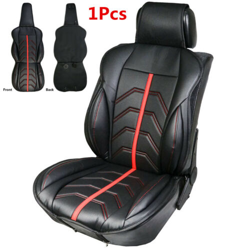 1x Front Seat Covers Breathable Pad Full Surround Mat for Auto Chair Cushion