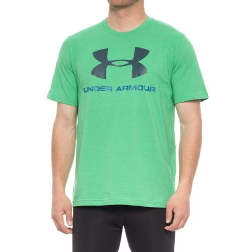 CHARGED COTTON BEST PRICE NWT~ MEN/'S UNDER ARMOUR SPORTS STYLE LOGO T-SHIRT
