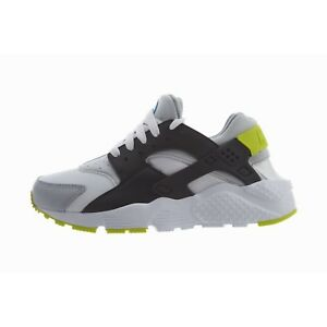 online store f8b68 f4617 Image is loading Nike-Huarache-Run-GS-654275-112-White-Cyber-