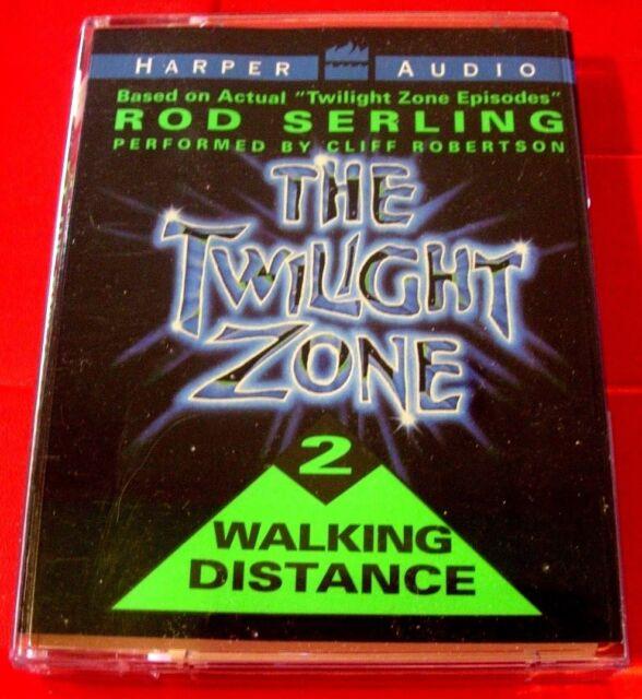 Rod Serling The Twilight Zone 2 Walking Distance Tape UNAB.Audio Cliff Robertson