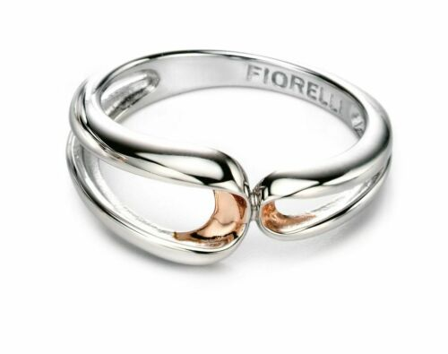 Fiorelli Silver  Rose Folded Detail Ring